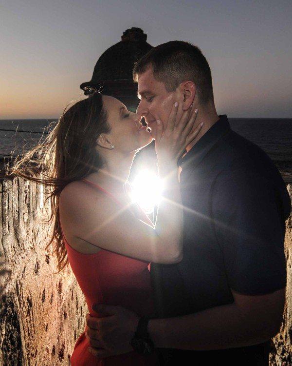 Romantic wedding photography Puerto Rico