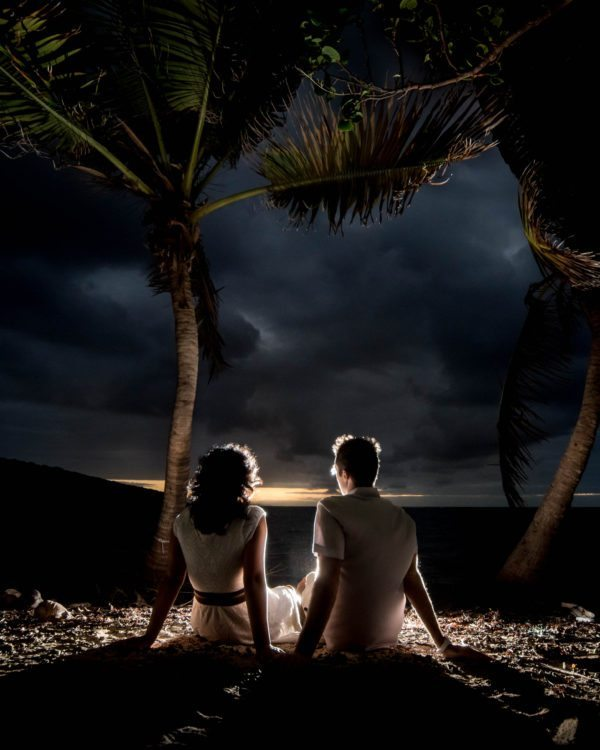 Stunning Culebra wedding photo